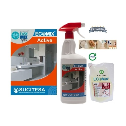 Kvapnus vonios kambario valiklis ECOMIX ACTIVE