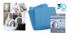 Mikropluošto šluostė stiklui SPECIAL GLASS (mėlyna)