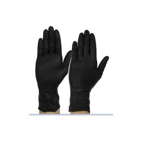 Nitrilinės vienkartinės pirštinės BLACK (100vnt.)