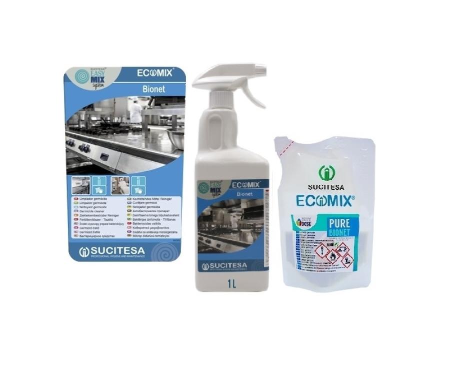 Universali dezinfekcija Ecomix - koncentratas
